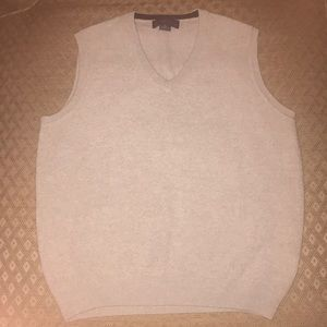Men's Brooks Brothers vest gray size small